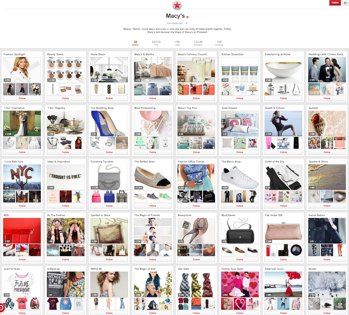 Pinterest Boards SEO