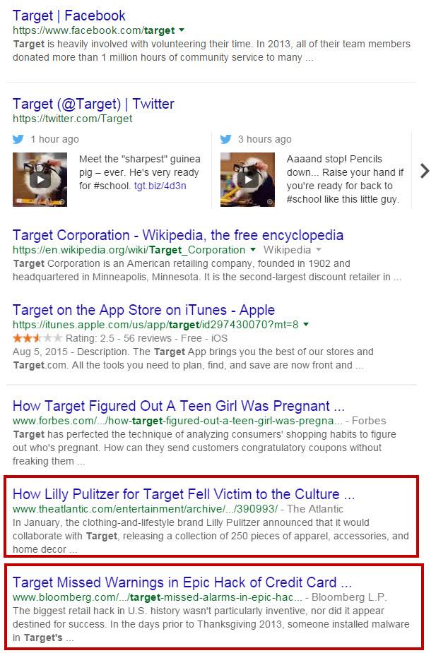 Target Negative Results
