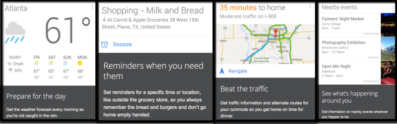 google now seo proactive reporting