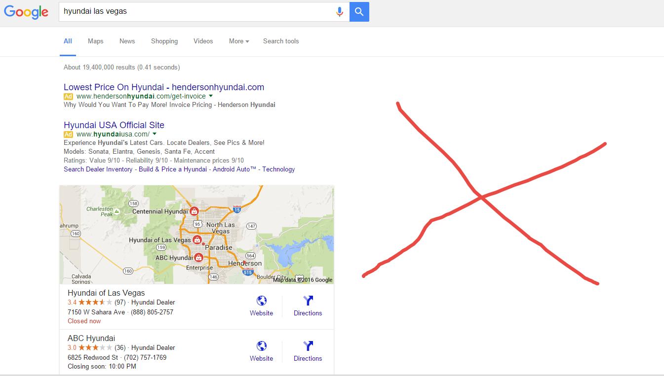 Google No Ads